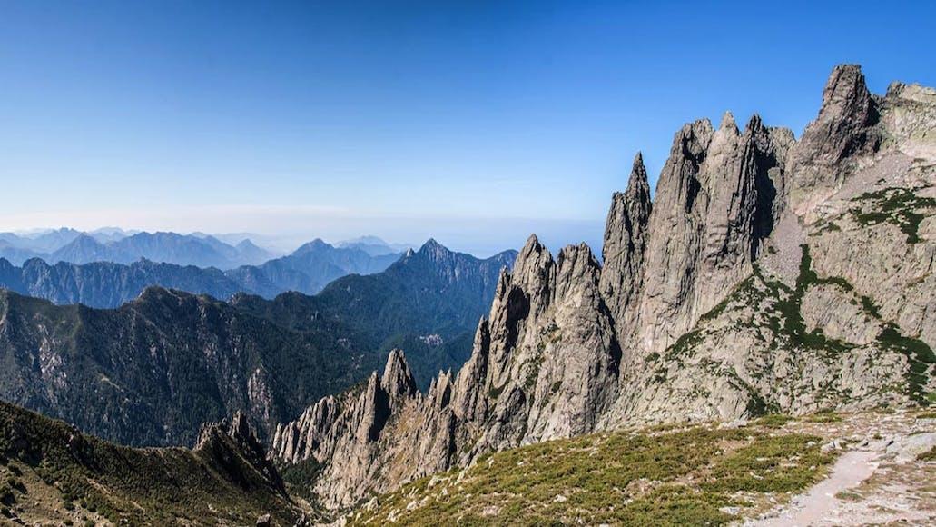 Hiking France's GR20 Trail