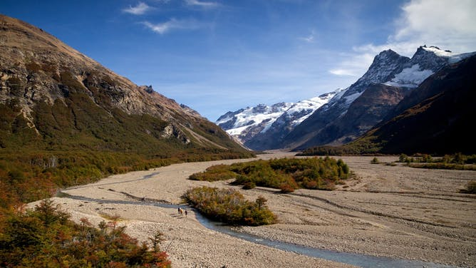 Hiking the Smuggler's Trail in Patagonia