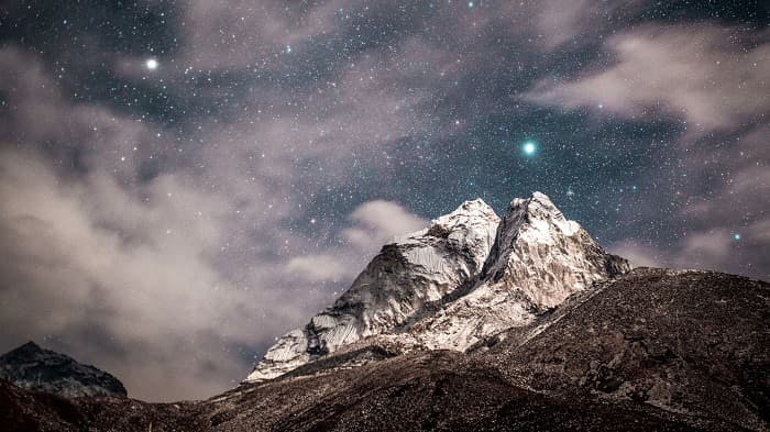 Everest Lodge to Lodge Trek - Starry Sky