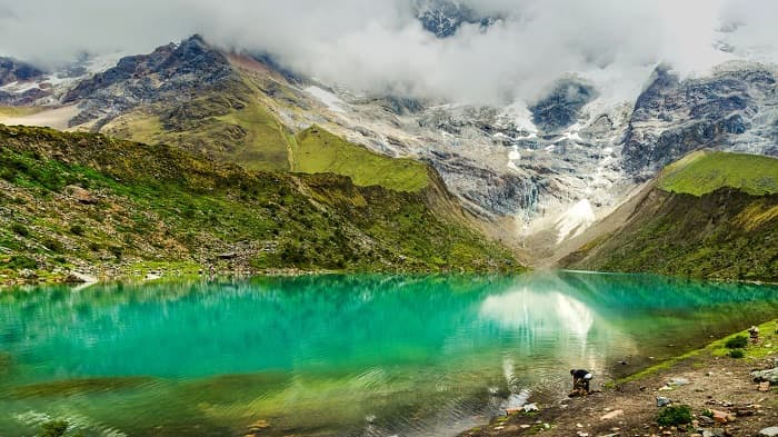 Macchu Picchu Lodge to Lodge Trek Inca Trail Lake