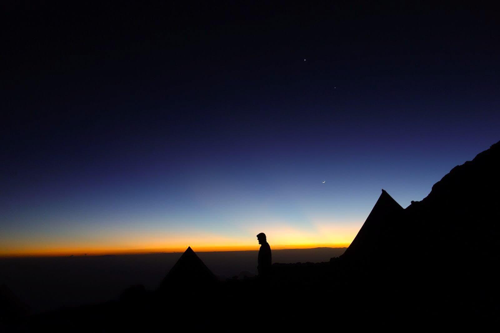 Night Time on Mount Kilimanjaro