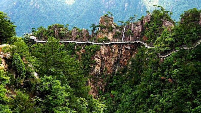 Exploring Yosemite's Sister Parks in China