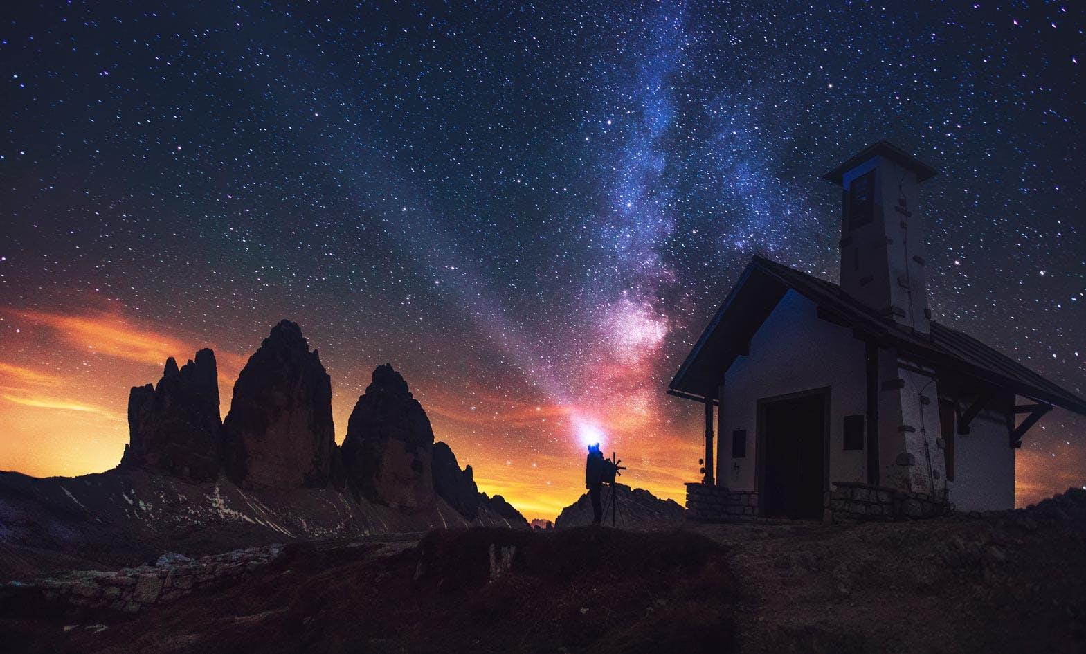 Under the stars Dolomites Hut to Hut