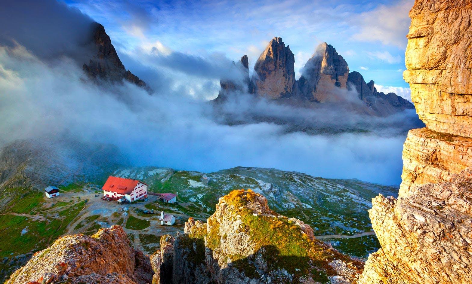 Dolomites Hut-to-hut Hiking Tours and Travel