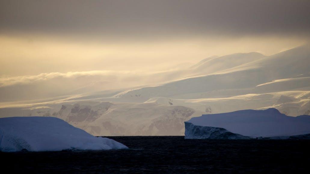 The Moon & Antarctica