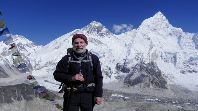 Aloft in the Himalayas