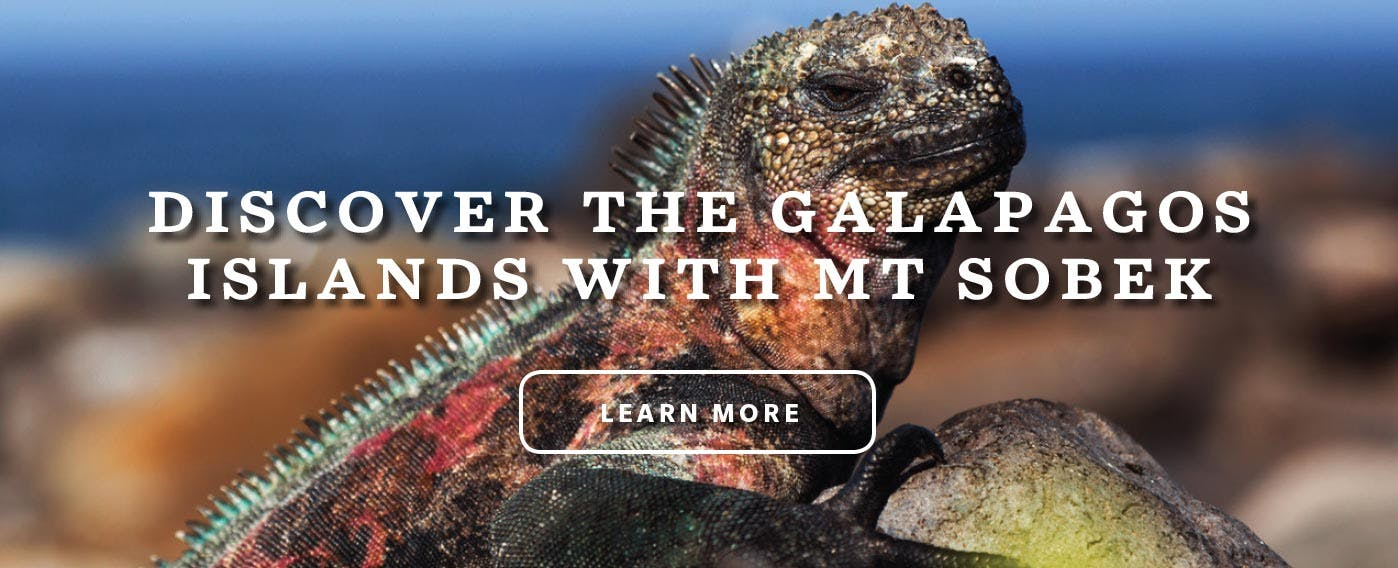 Discover the Galapagos Islands with MT Sobek