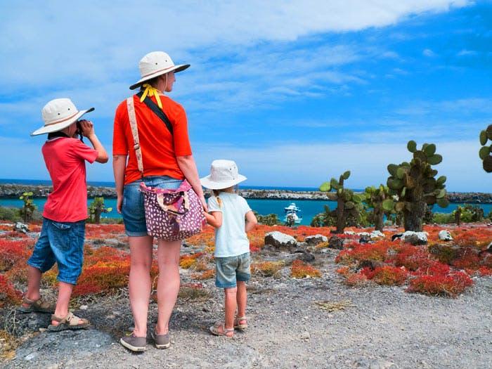 family trip galapagos