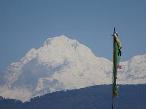 View of Mt Ganesh