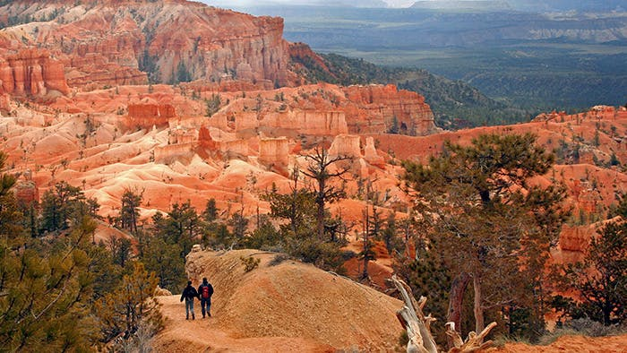 Utah National Parks Bryce Hiking Slot Canyon