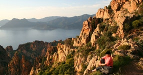France Island of Corsica Hiking