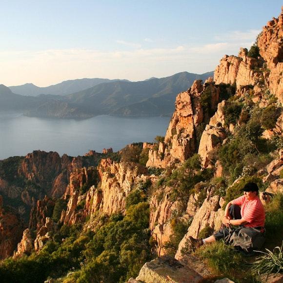 France Island of Corsica Hiking   MT Sobek