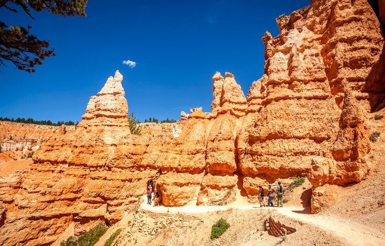 Hiking in the canyons - Utah National Parks Multi-Adventure