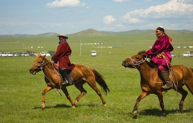 mongolian riders - Mongolia Horse Trek