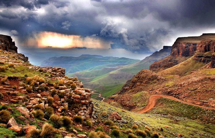 mountain rain - South Africa Three Kingdoms Multi-Adventure