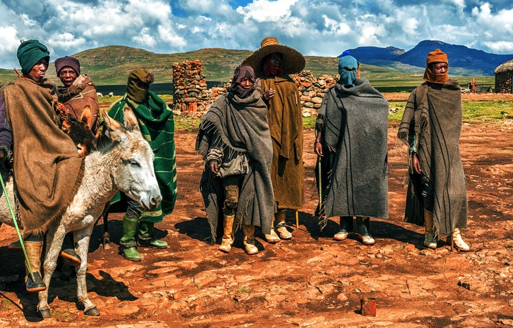 basotho guys - South Africa Three Kingdoms Multi-Adventure