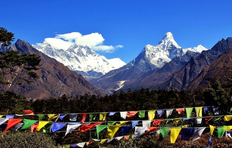 ama dablam - Nepal Everest Base Camp Trek
