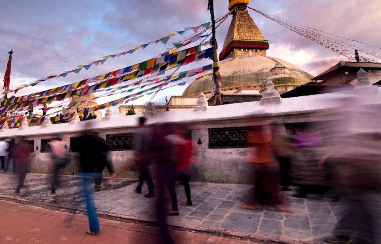 bodnath motion - Nepal Everest Base Camp Trek