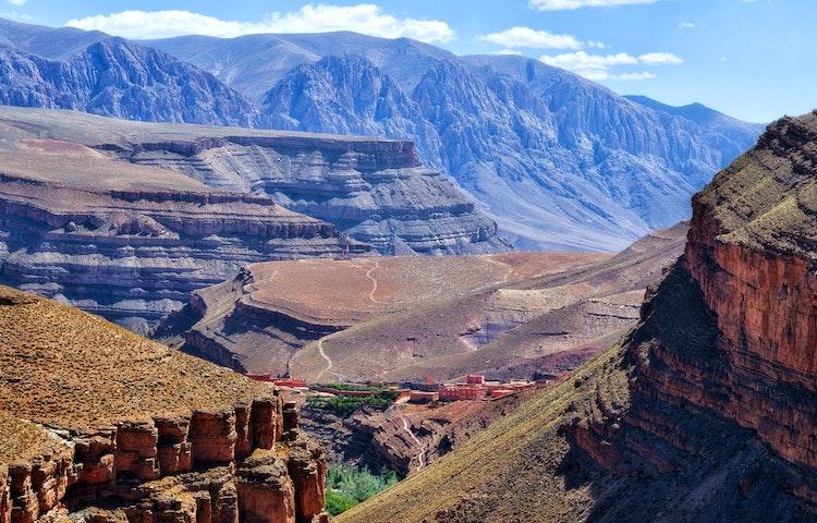 dades gorge - Morocco High Atlas Mountain Trekking