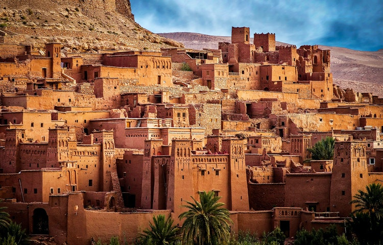 kasbah walls - Morocco High Atlas Mountain Trekking