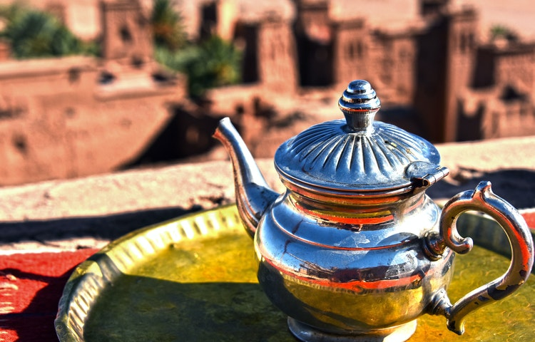 tea - Morocco High Atlas Mountain Trekking
