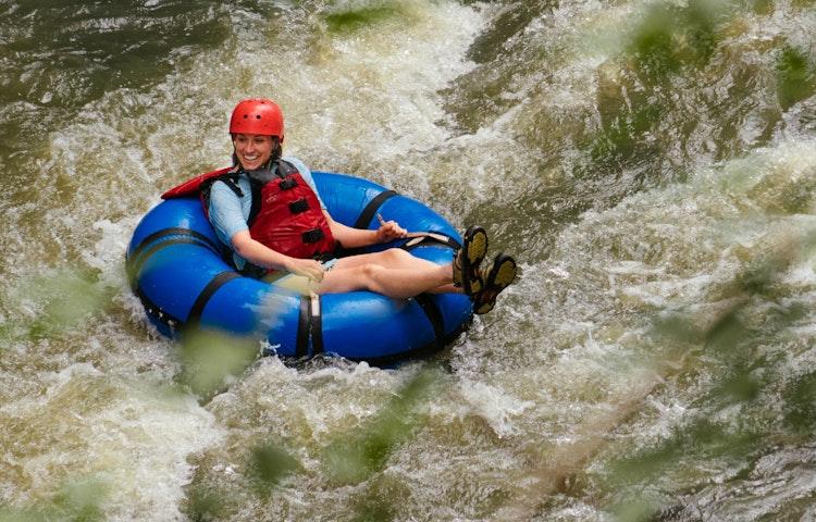 tubing - Costa Rica Private Family Adventure