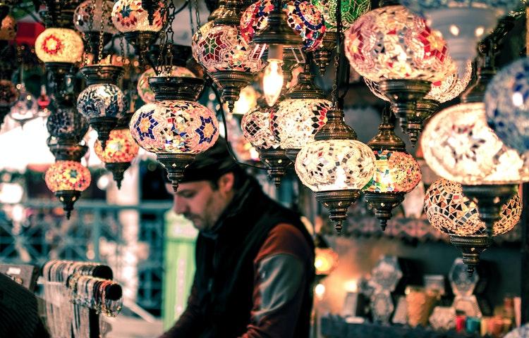 lamps - Morocco High Atlas Mountain Trekking