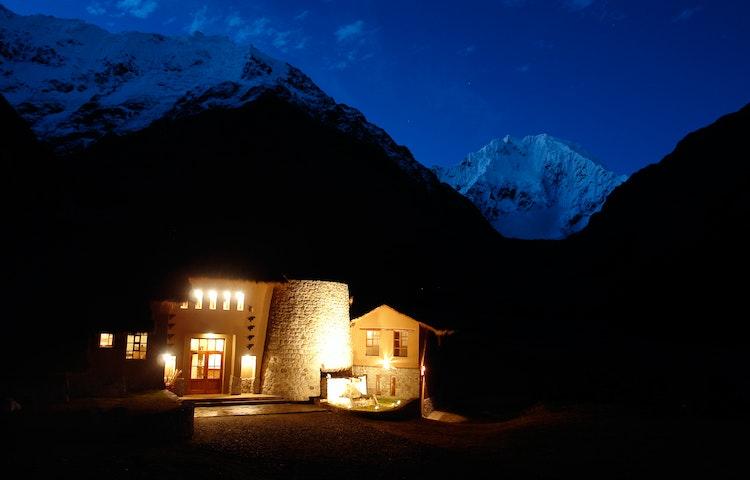 salkantay lodge - Peru Cusco and Machu Picchu Trek