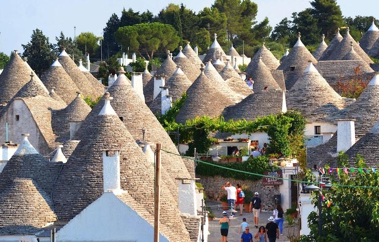 trulli houses in alberobello - Italy Coastal Puglia Hiking