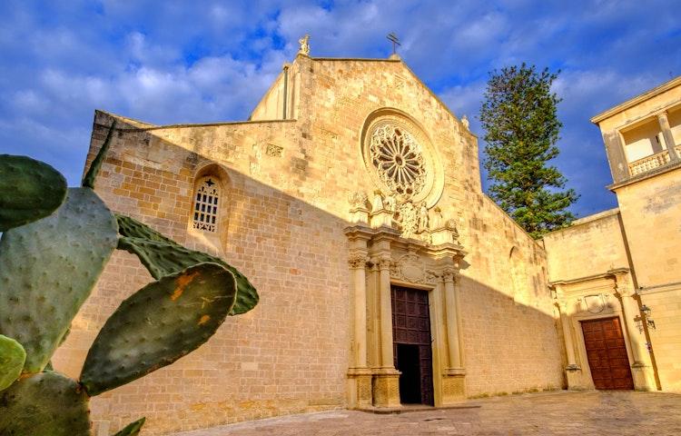 otranto cathedral - Italy Coastal Puglia Hiking