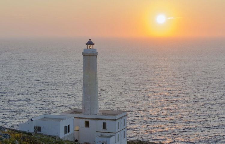 palascia lighthouse - Italy Coastal Puglia Hiking