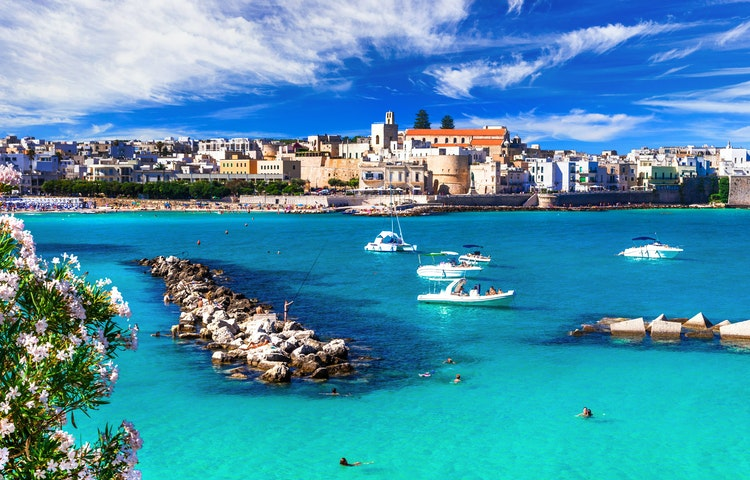 otranto harbor - Italy Coastal Puglia Hiking