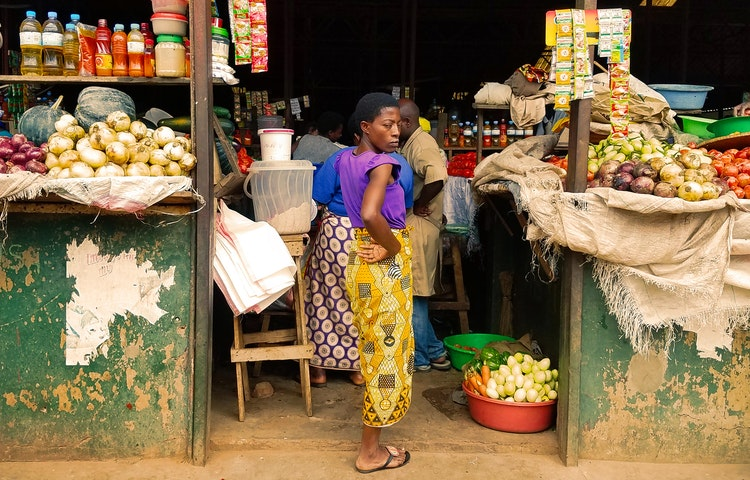 market stall - Rwanda Primate Adventure