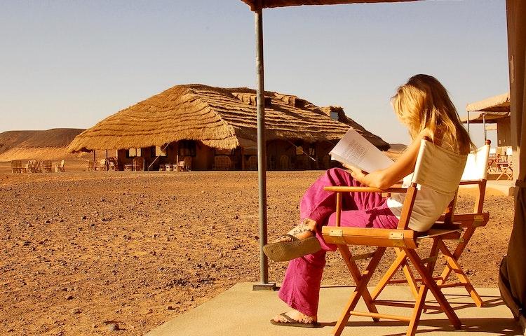 woman at meroe camp
