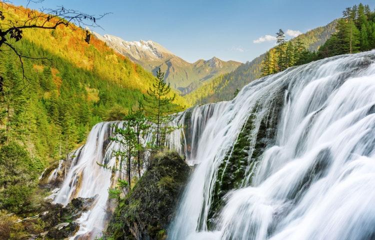 pearl shoal waterfall - China: Yosemite Sister Parks Hiking