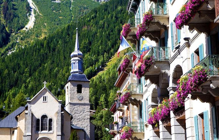 flower boxes - Alps Mont Blanc Family Adventure