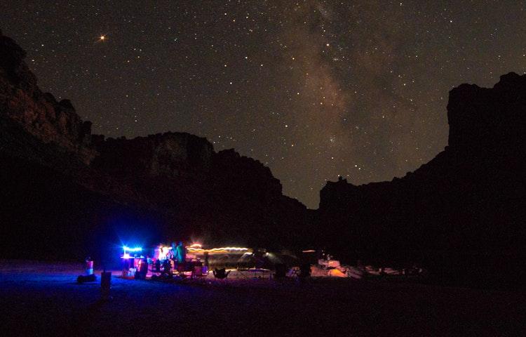 camp and the universe - Utah Colorado River Cataract Canyon River Rafting