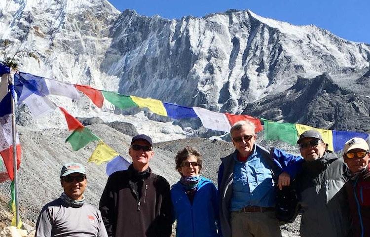 lhakpa and group - Nepal Everest Base Camp Trek