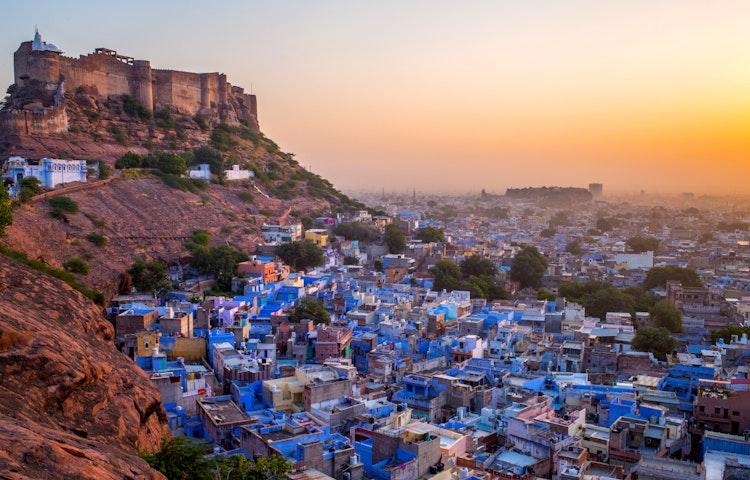 blue city - India Royal Rajasthan & Pushkar Camel Fair