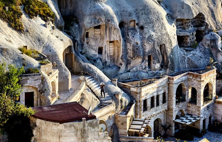 troglodyte dwellings - Turkey Cultural Discovery Private Adventure
