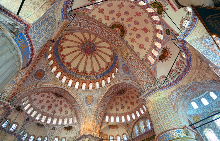 mosaic ceiling - Turkey Cultural Discovery Private Adventure