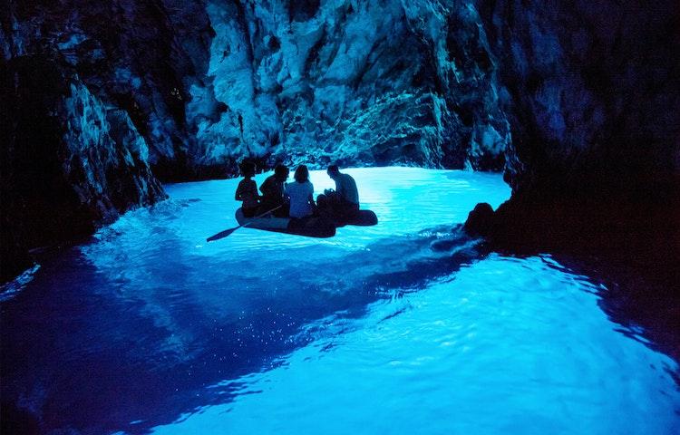 blue cave - Croatia & Montenegro Family Adventure