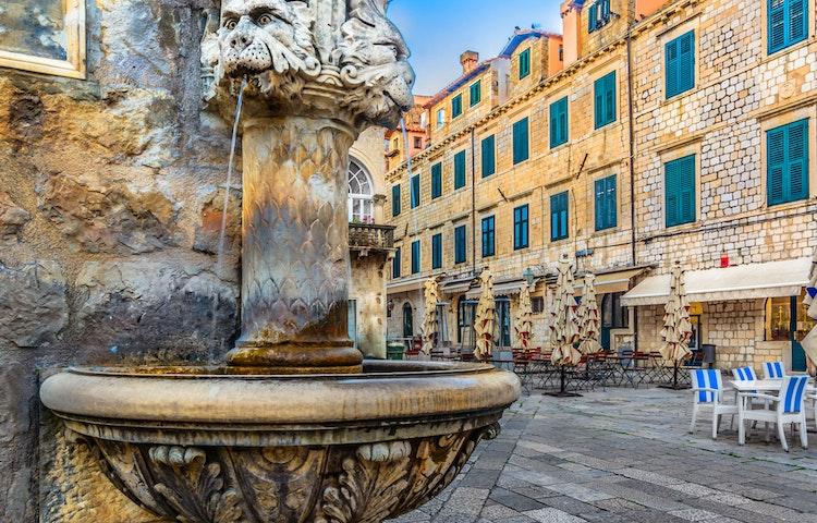 roman foundation - Croatia & Montenegro Family Adventure