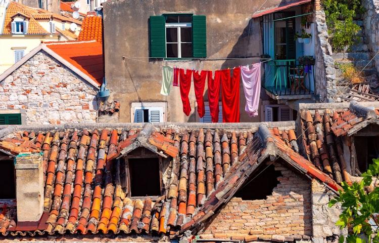 houses - Croatia Istria and the Dalmatian Coast Hiking