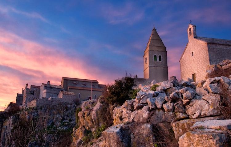 sunset - Croatia Istria and the Dalmatian Coast Hiking