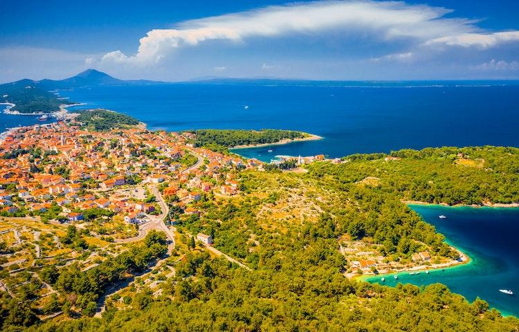 bay sunset - Croatia Istria and the Dalmatian Coast Hiking