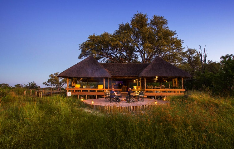 meadow camp - Angola Expedition