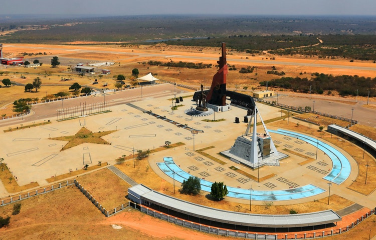 some monument - Angola Expedition