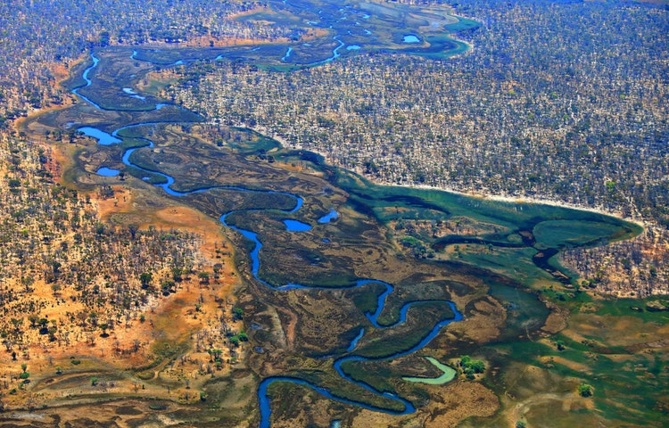 river aerial - Angola Expedition
