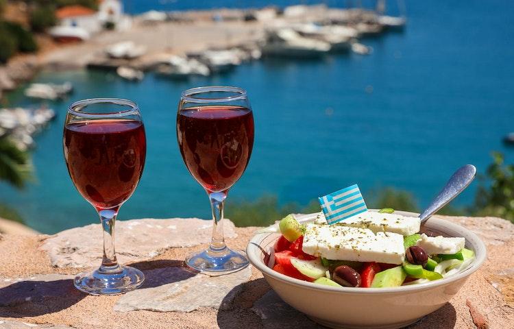 wine - Greece Crete and Santorini Multi-Adventure